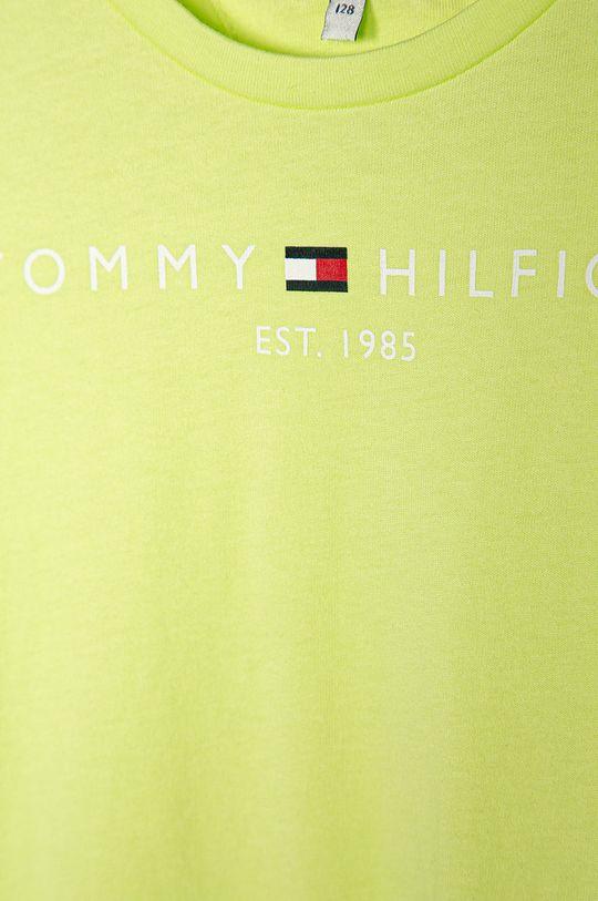 Tommy Hilfiger - Detské tričko 74-176 cm žlto-zelená