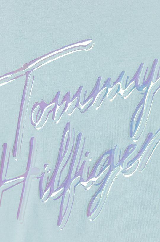 Tommy Hilfiger - T-shirt dziecięcy 104- 176 cm jasny niebieski