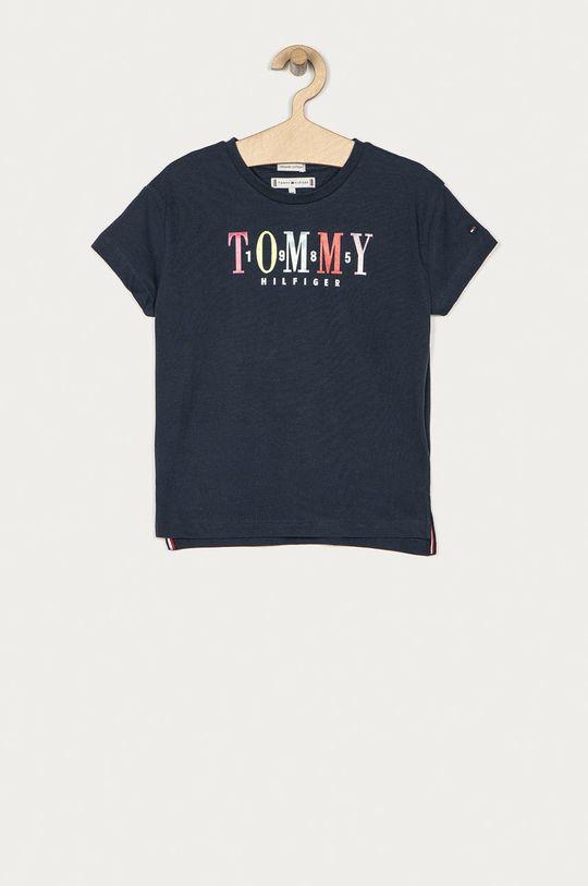 granatowy Tommy Hilfiger - T-shirt dziecięcy 104-176 cm Dziewczęcy