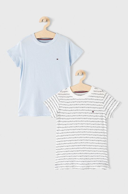 blady niebieski Tommy Hilfiger - T-shirt dziecięcy 128-164 cm (2-pack) Dziewczęcy