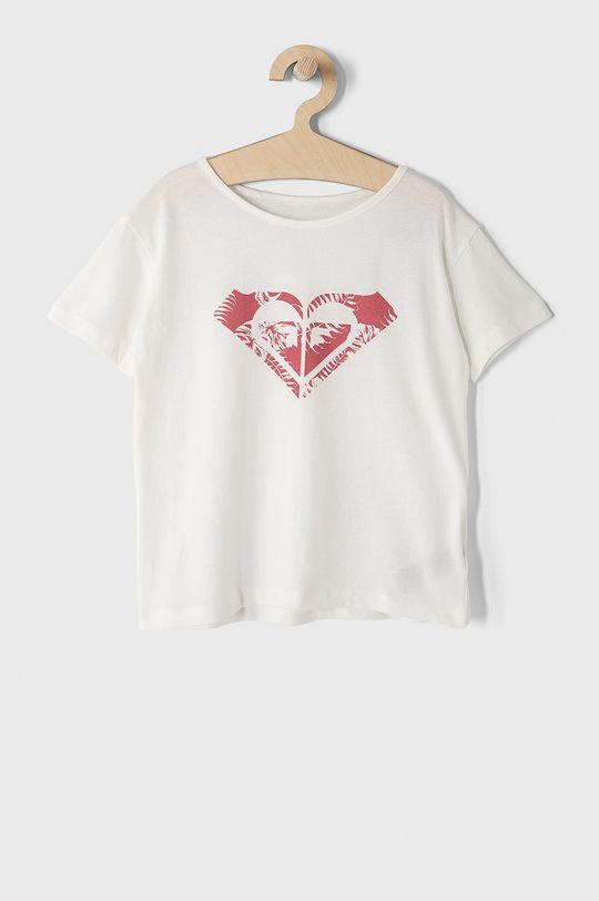biały Roxy - T-shirt dziecięcy 104-176 cm Dziewczęcy