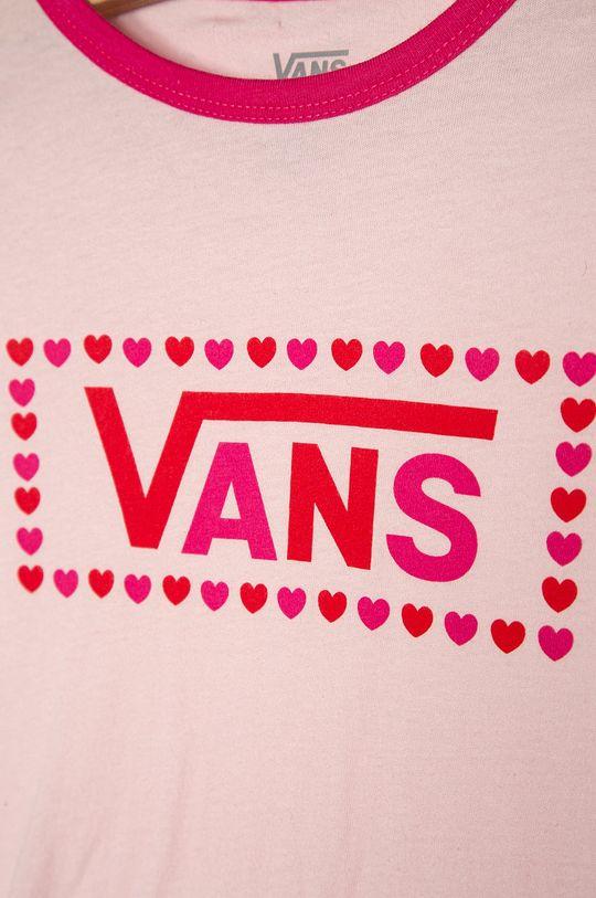 Vans - Detské tričko 129-173 cm ružová