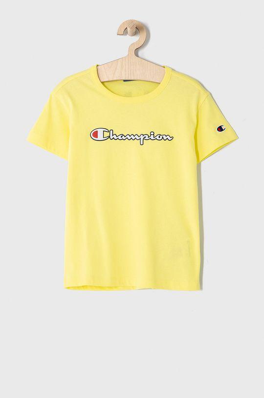 žltá Champion - Detské tričko 102-179 cm Dievčenský