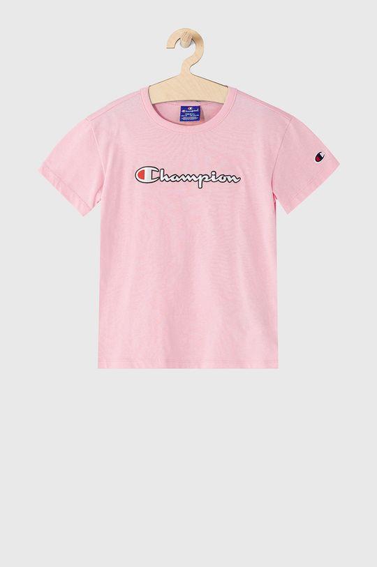 ružová Champion - Detské tričko 102-179 cm Dievčenský