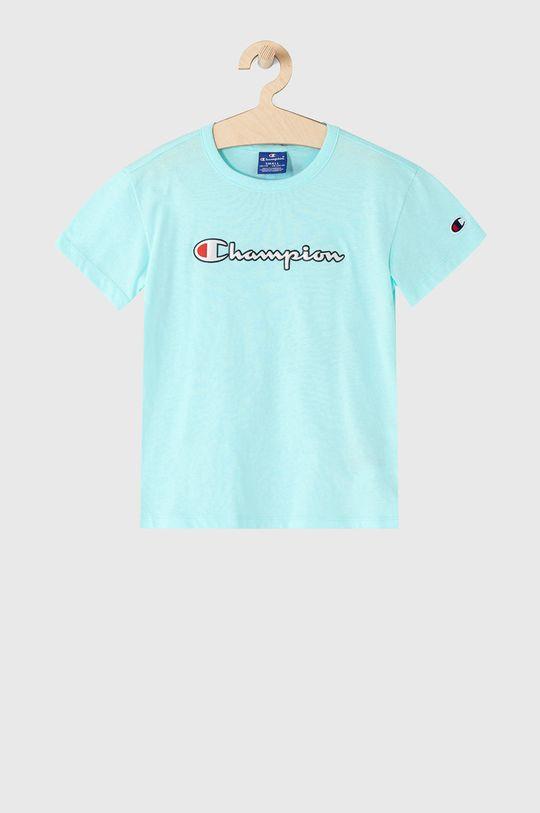 tyrkysová Champion - Detské tričko 102-179 cm Dievčenský