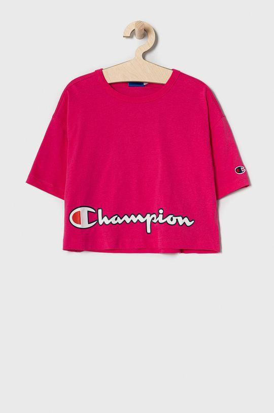 różowy Champion - T-shirt dziecięcy 102-179 cm Dziewczęcy