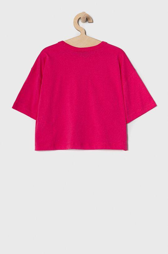 Champion - T-shirt dziecięcy 102-179 cm różowy