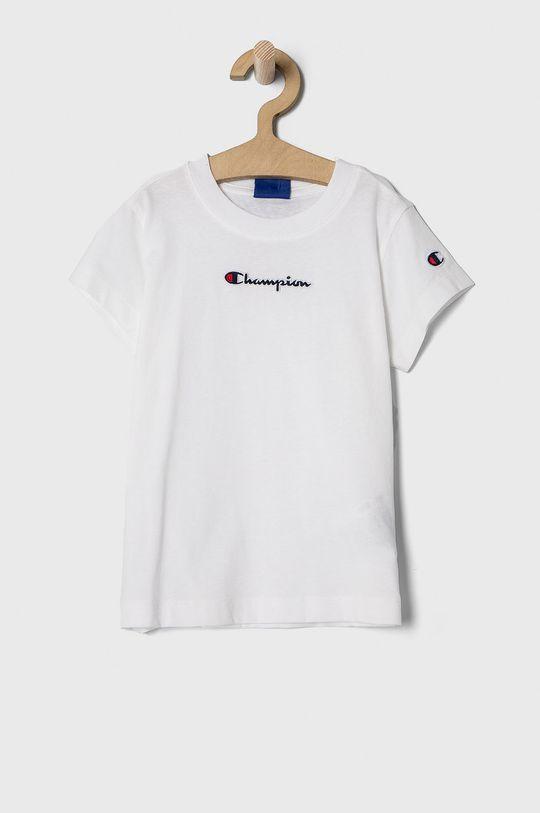 biały Champion - T-shirt dziecięcy 102-179 cm Dziewczęcy