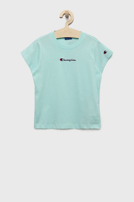jasny niebieski Champion - T-shirt dziecięcy 102-179 cm Dziewczęcy