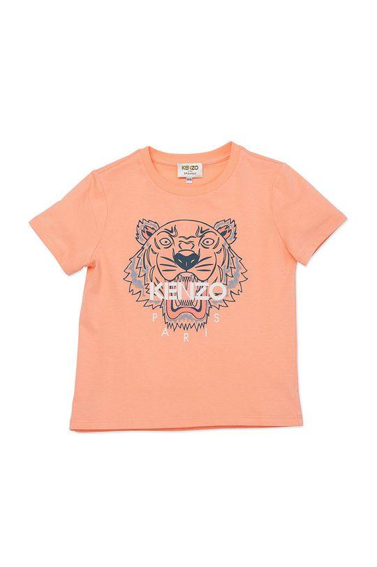 brzoskwiniowy KENZO KIDS - T-shirt dziecięcy 128-152 cm Dziewczęcy