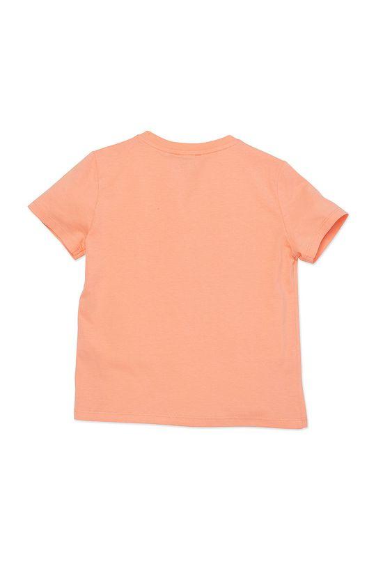 KENZO KIDS - T-shirt dziecięcy 128-152 cm brzoskwiniowy