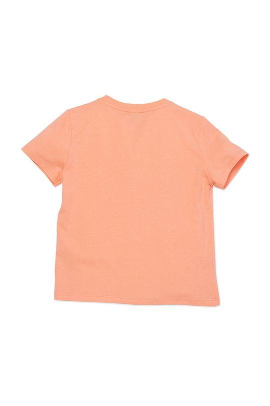 KENZO KIDS - T-shirt dziecięcy 164 cm brzoskwiniowy