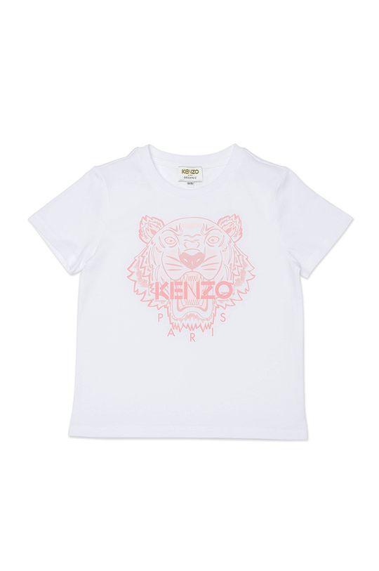 bílá KENZO KIDS - Dětské tričko Dívčí