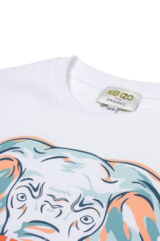 KENZO KIDS - T-shirt dziecięcy biały