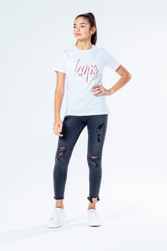Hype - T-shirt dziecięcy SPRAY SCRIPT biały