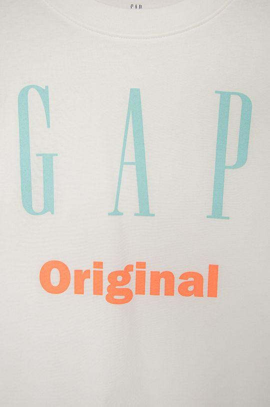GAP - T-shirt bawełniany dziecięcy 100 % Bawełna