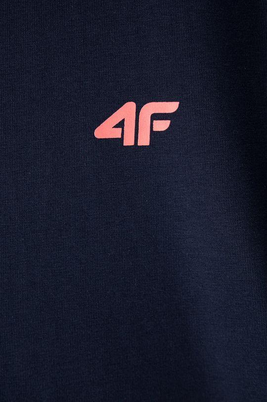 4F - T-shirt dziecięcy 122-164 cm granatowy