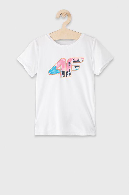 bílá 4F - Dětské tričko 122-164 cm Dívčí