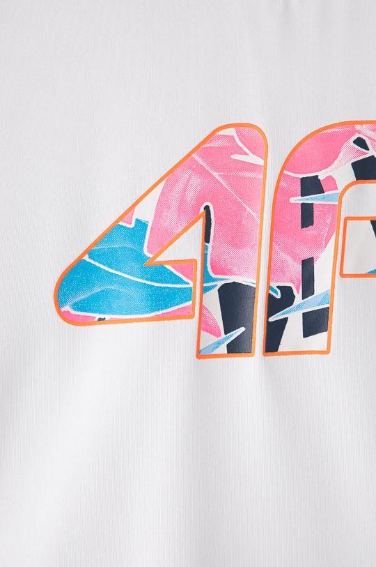 4F - Dětské tričko 122-164 cm bílá