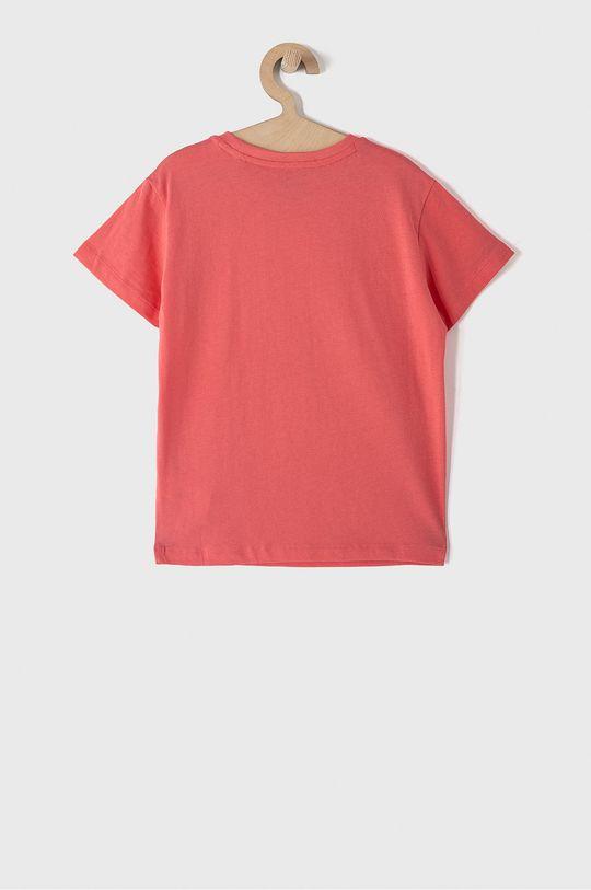 Puma - Detské tričko 104-164 cm koralová