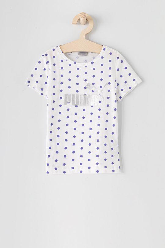 biela Puma - Detské tričko 92-164 cm Dievčenský