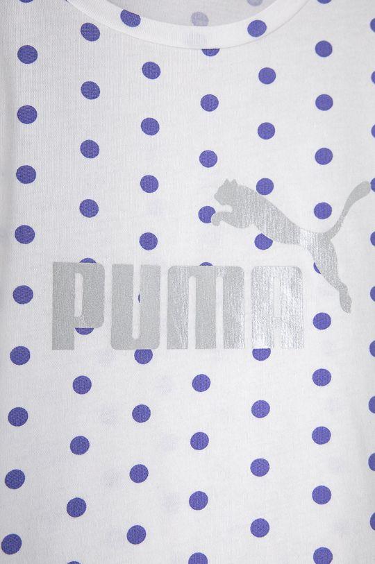 Puma - Detské tričko 92-164 cm biela