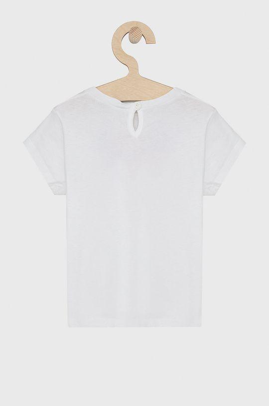 United Colors of Benetton - Dětské bavlněné tričko bílá