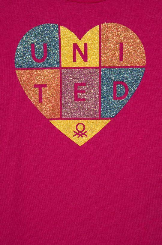United Colors of Benetton - Dětské bavlněné tričko  100% Organická bavlna