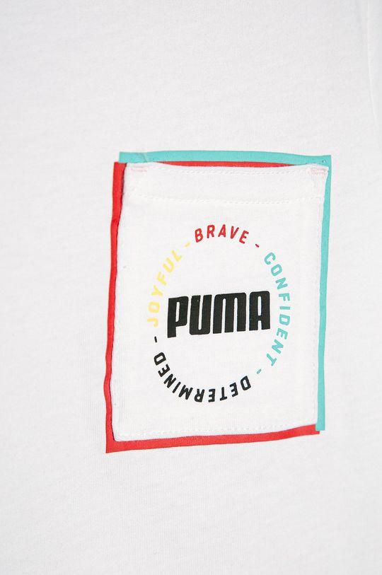 Puma - Detské tričko 104-176 cm biela