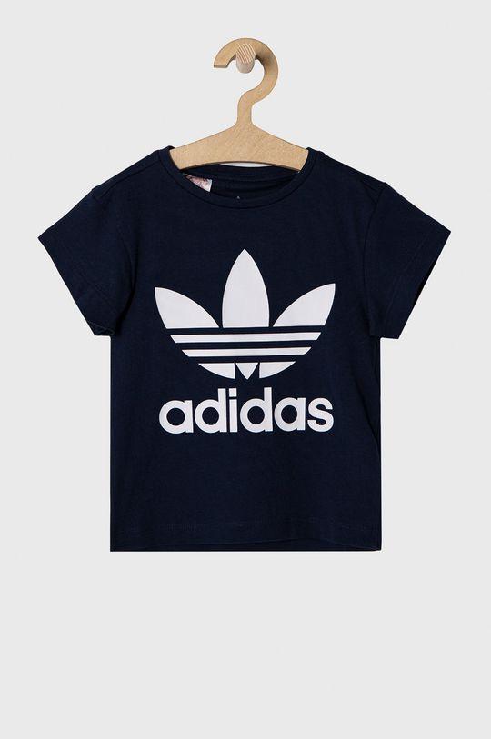 tmavomodrá adidas Originals - Detské tričko 104-128 cm Detský
