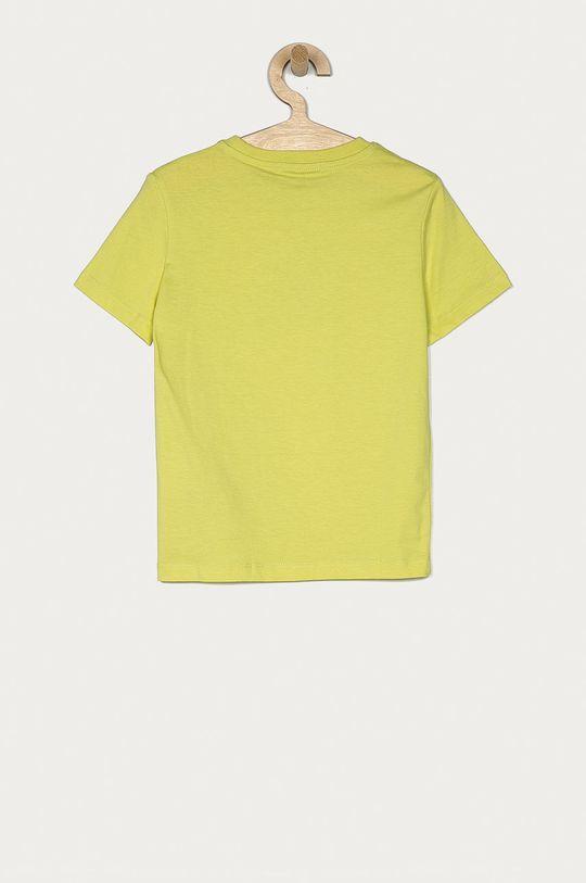 Calvin Klein Jeans - Dětské tričko 104-176 cm žlutě zelená