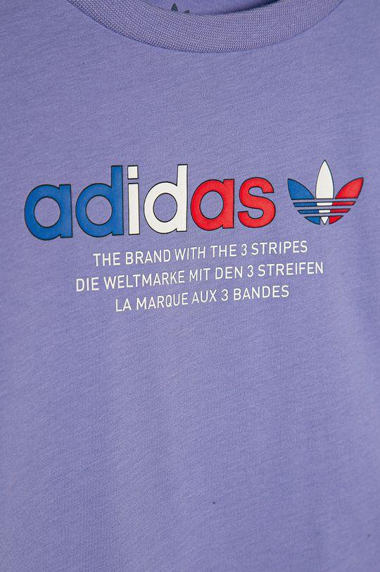 adidas Originals - Detské tričko 134-176 cm červenofialový