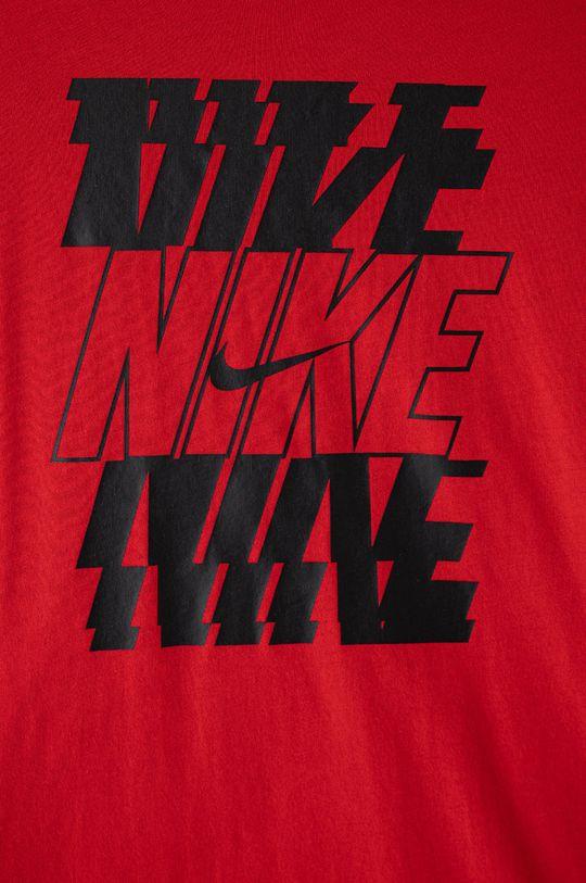 Nike Kids - Detské tričko 122-170 cm sýtočervená