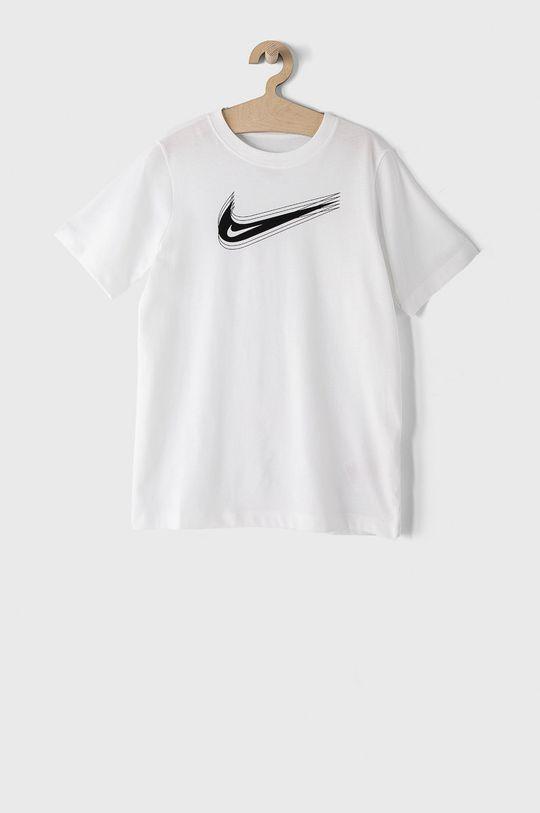 biały Nike Kids - T-shirt dziecięcy 122-170 cm Dziecięcy