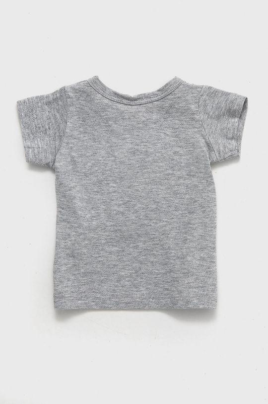 United Colors of Benetton - Dětské bavlněné tričko světle šedá