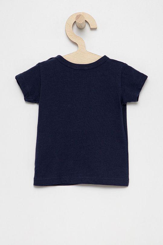 United Colors of Benetton - Dětské bavlněné tričko námořnická modř