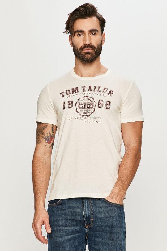 cielisty Tom Tailor - T-shirt Męski