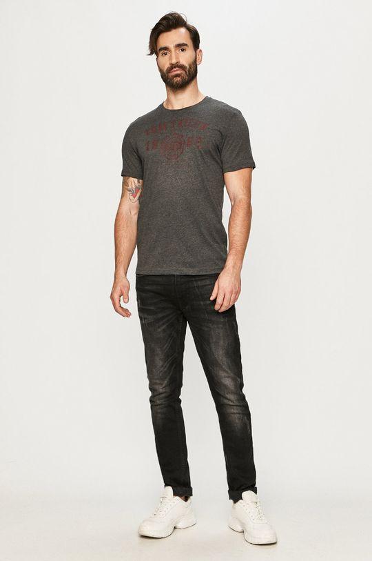 Tom Tailor - T-shirt szary