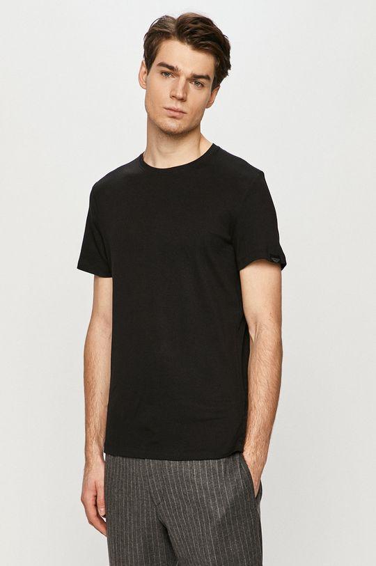 černá Tom Tailor - Tričko Pánský