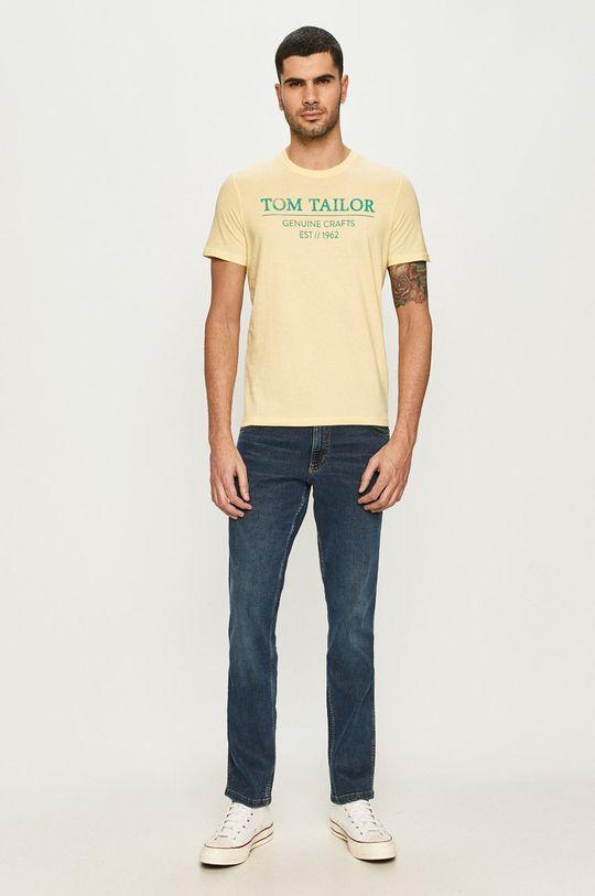 Tom Tailor - Tričko žltá