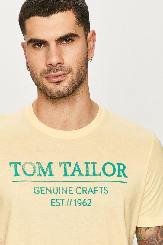 žltá Tom Tailor - Tričko