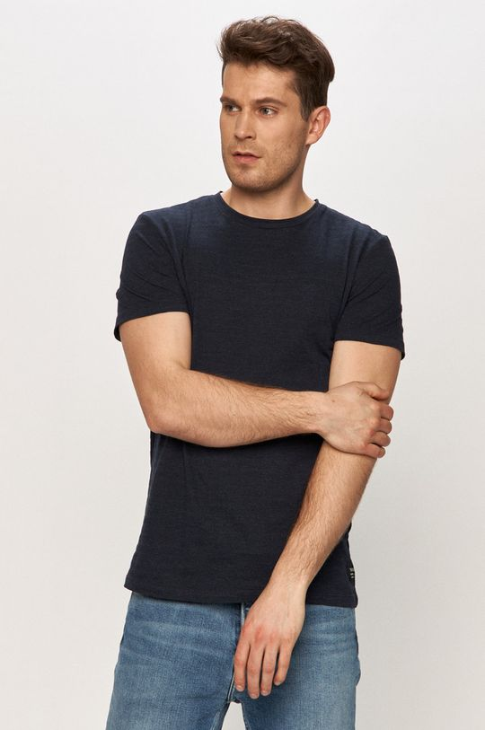 námořnická modř Tom Tailor - Tričko Pánský