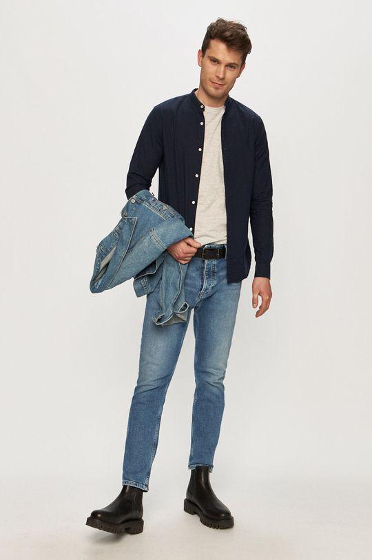 Tom Tailor - T-shirt jasny szary