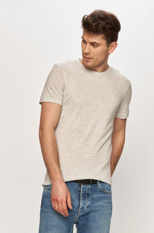 jasny szary Tom Tailor - T-shirt