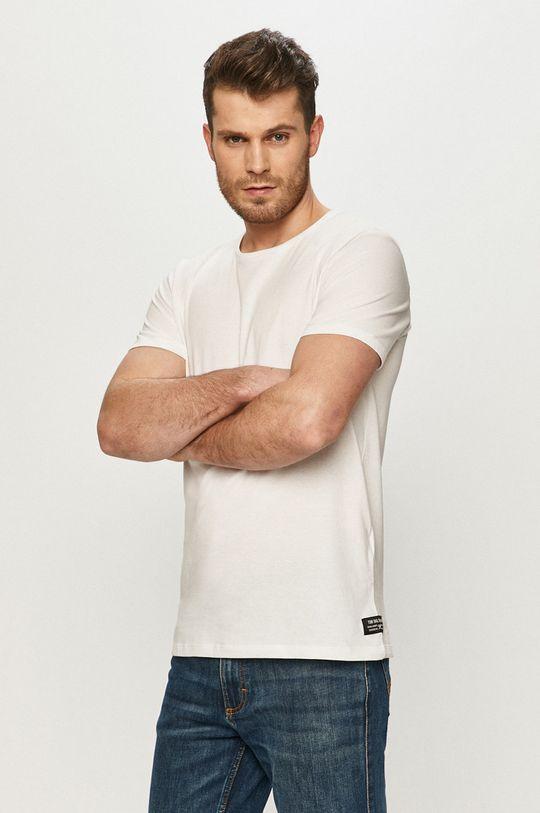 bílá Tom Tailor - Tričko Pánský