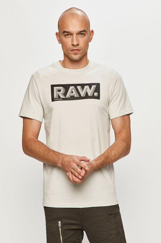 šedá G-Star Raw - Tričko Pánský