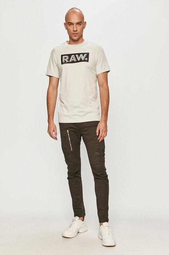 G-Star Raw - Tričko šedá