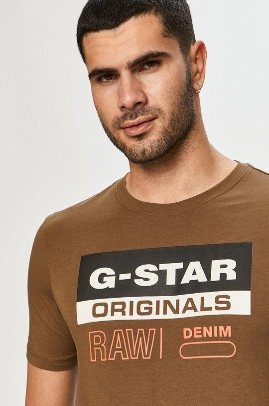 oliwkowy G-Star Raw - T-shirt