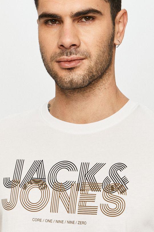 biały Jack & Jones - T-shirt