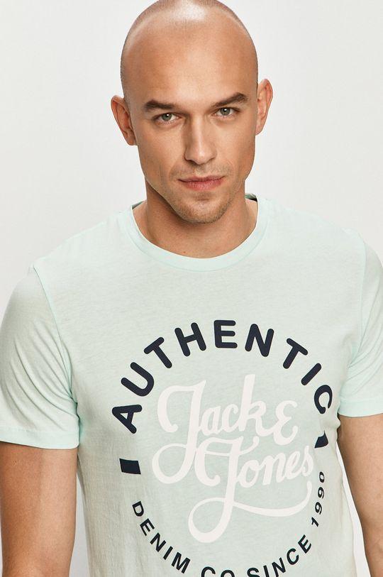 jasny turkusowy Jack & Jones - T-shirt